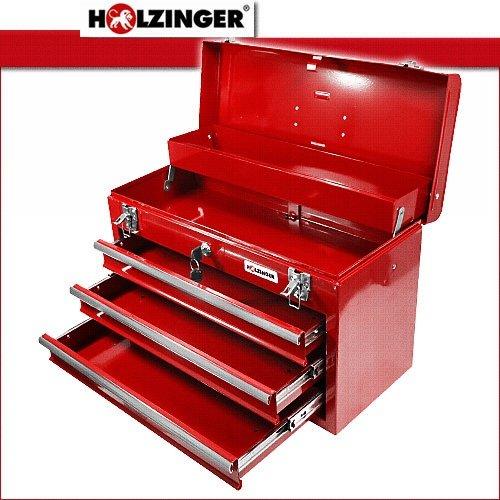Holzinger Werkzeugkoffer Hwzk500 3 Kugelgelagert 3 Schubladen 1 Fach